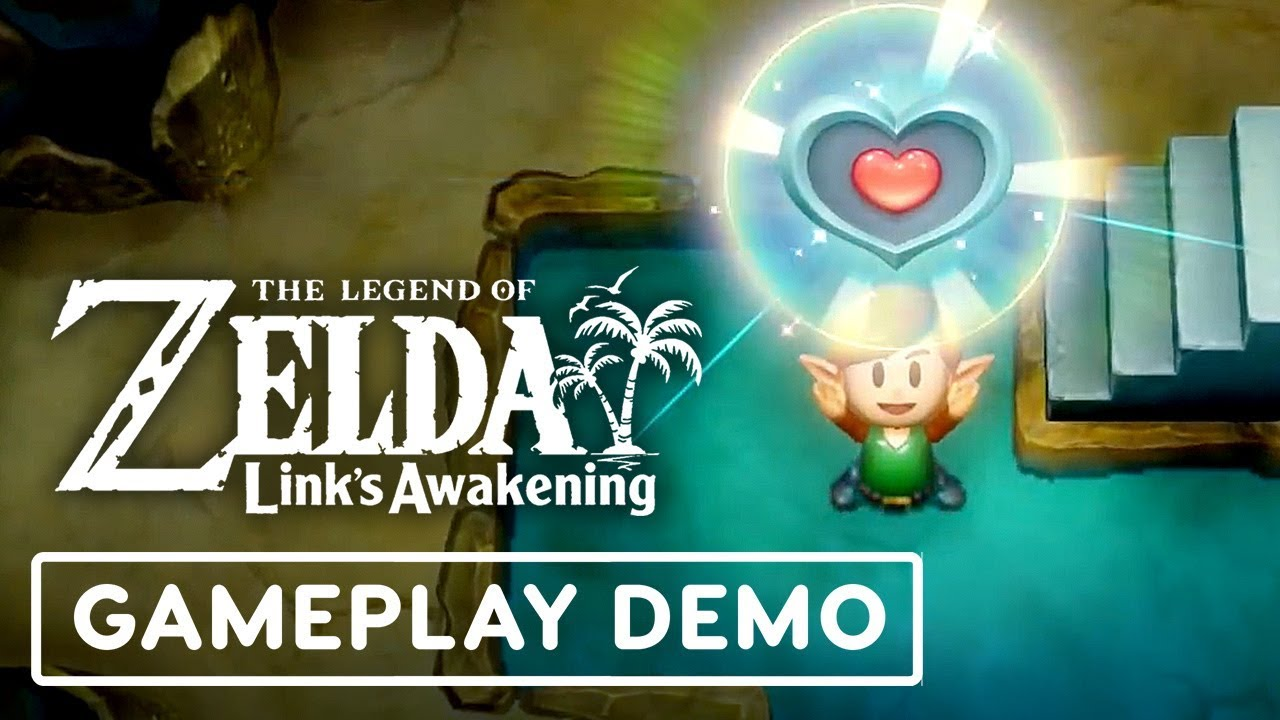 The Legend of Zelda: Link's Awakening Gameplay Walkthrough - IGN LIVE E3 2019