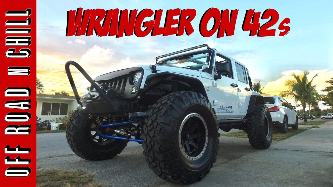 going from 37 to 42 inch tires wrangler jk on 42s youtube. Black Bedroom Furniture Sets. Home Design Ideas