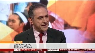 Jack Valero reviews Pope Francis' trip to the Philippines on BBC World News