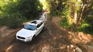 Программа Рулевые игры на канале Москва 24 -  Тест-драйв новой Volvo V90 Cross Country