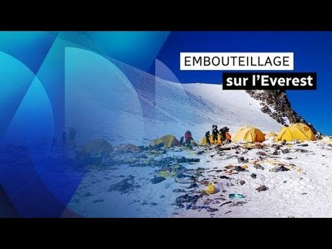 Embouteillages mortels au sommet de l'Everest