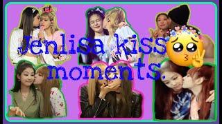 Jenlisa kisses moments(Lisa kiss Jennie blackpink)
