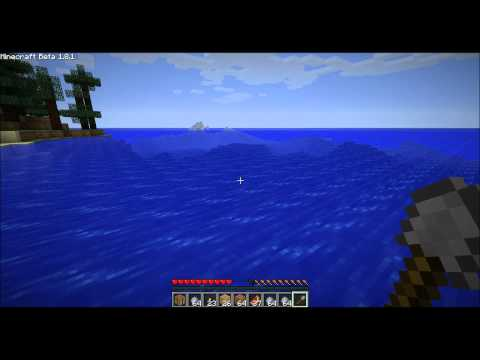 Minecraft Deep Sea Clay Mining