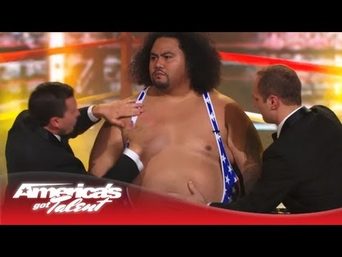 Tummy Talk - Belly Slapping Musicians Enter the Boxing Ring - America's Got Talent 2013