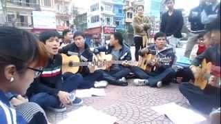 Du ca Hải Dương - Liên khúc Thu éo, Xa, Yên bình ngày 27.01.2013