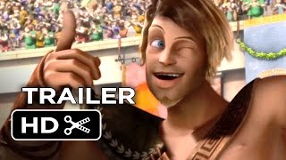 Gladiators of Rome Official US Release Trailer (2014) - Animated Movie HD