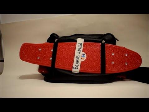 Custom Penny Board Bag Tutorial