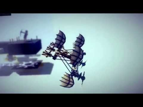 Flying in Besiege