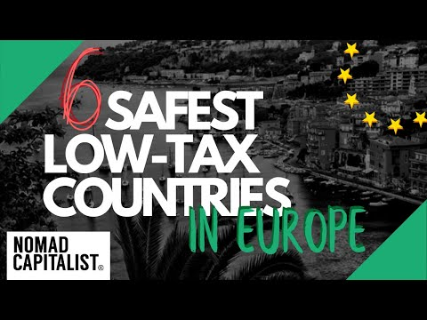 The Safest Low-Tax Countries In Europe