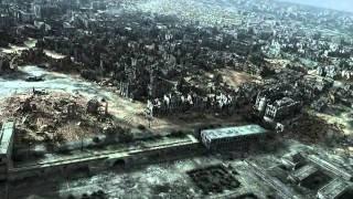 City Of Ruins; Destroyed Warsaw-Poland In 1945