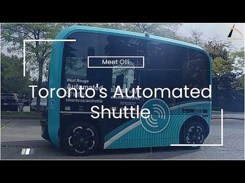 Meet Toronto's Automated Shuttle
