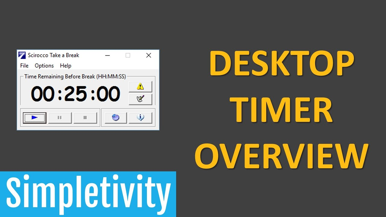 how to use the take a break timer for maximum productivity youtube