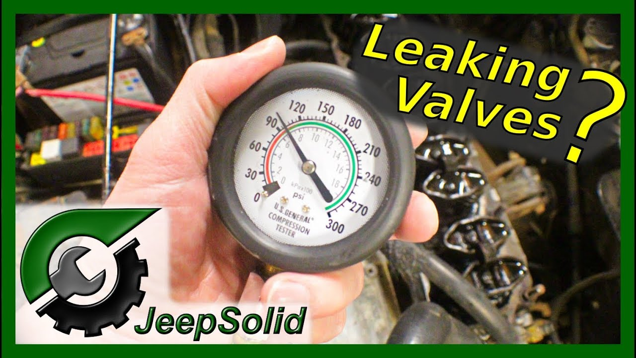 How to do a compression test: Jeep Wrangler