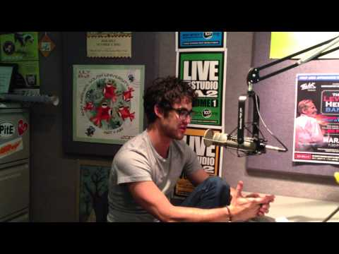 Darren Criss Of Glee- Radio Interview In His College Town Ann Arbor, Mi 107one 6/13/13