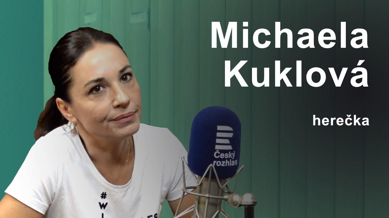 Životní krize jsou úžasné, teprve díky nim člověk objeví své možnosti, říká herečka Kuklová