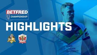 Highlights | York City Knights v Oldham RLFC | Betfred Championship