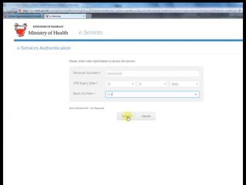 Online Appointments in Health Centers
