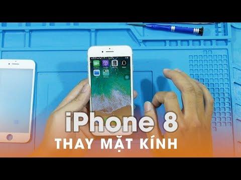 Thay mặt kính iPhone 8 chính hãng tại HCM