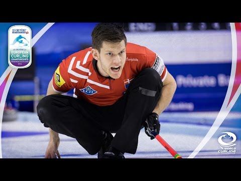 Scotland v Denmark (Men) - Le Gruyère AOP European Curling Championships 2016