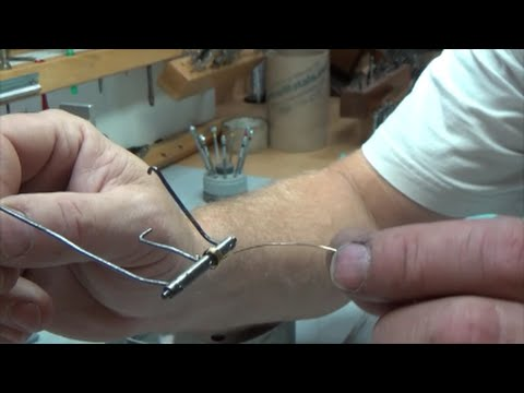 Making a spring wire for a Waterbury clock