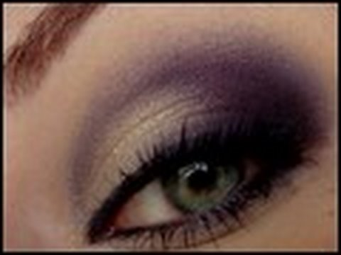 makeup tutorial golden purple smokey eyes magimania schminkanleitung youtube. Black Bedroom Furniture Sets. Home Design Ideas