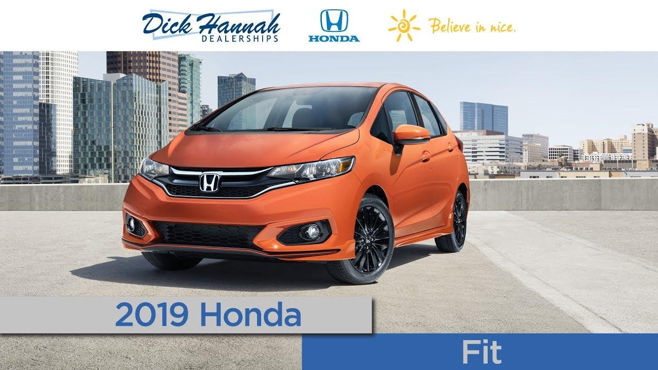 Dick Hannah Honda Vancouver Wa >> 2019 Honda Fit Review Dick Hannah Honda