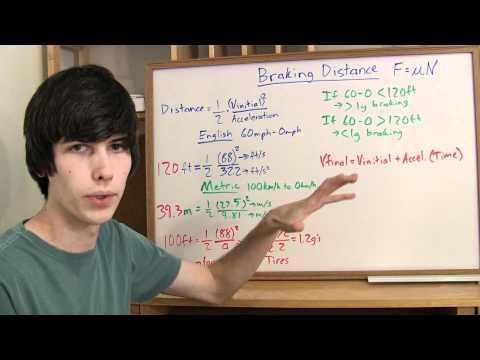 Braking Distance - Explained