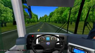 OMSI 2 - Wotty City WIP Ônibus Neobus New Road N10 360 Scania K360 (Download)