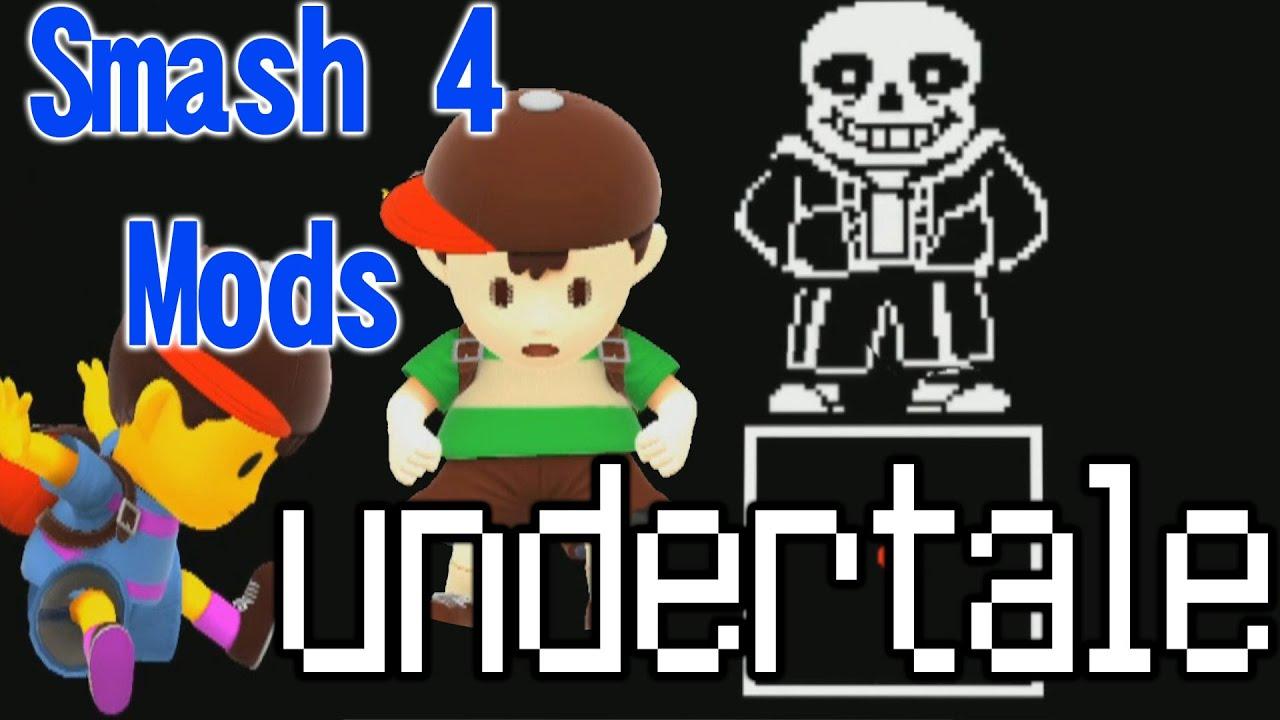 How to install sans undertale skin download sans undertale skin - Smash Wii U Mods Showcase Undertale Vs Sans Stage Frisk Chara Skins Youtube