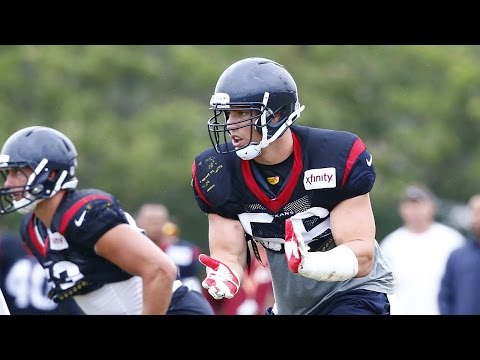 Brian Cushing calls out Alfred Blue - 2015 Hard Knocks: The Houston Texans Episode 2 preview