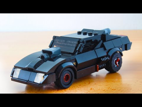 Lego Mad Max's Interceptor V8 From Fury Road MOC