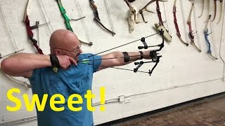 world s coolest sling bow hybrid the gearhead archery t15 pro