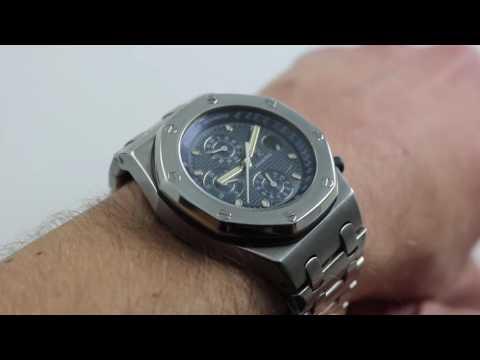 Audemars Piguet Royal Oak Offshore Chrono 25721 Luxury Watch Review