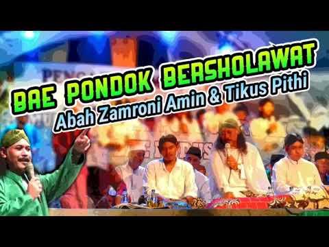 Yaa Imamarrusli, Abah zamroni amin feat Tikus Pithi live perfome in Bae pondok Kudus