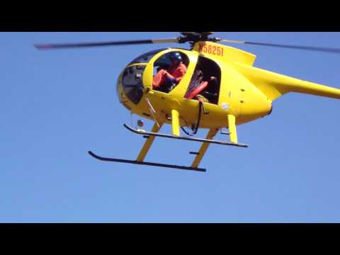 [HD] 2-27-2010  Tsunami Warning Maui County Fire Department Rescue Helicopter Landing
