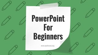PowerPoint For Beginners ☑️