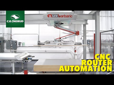 Advanced Automated Panel Processing - Material Handling, CNC Machining, Picking, and Placing