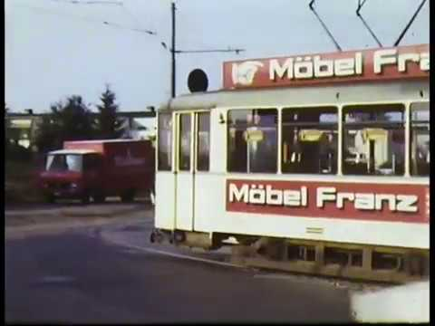 Historische Aufnahmen/Führerstandsmitfahrten Straßenbahn Frankfurt 70er Jahre