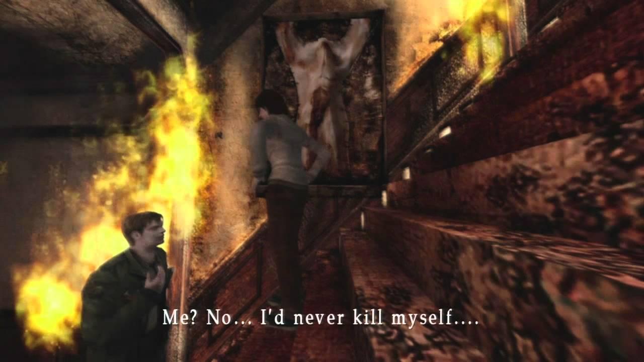 Silent Hill 2 Ending Pyramid Head Final Boss Gameplay