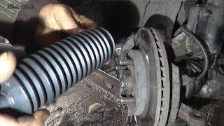 Замена внутреннего пыльника рулевой тяги Chevrolet Lacetti