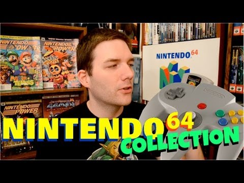 My Nintendo 64 Collection - Chris Stuckmann