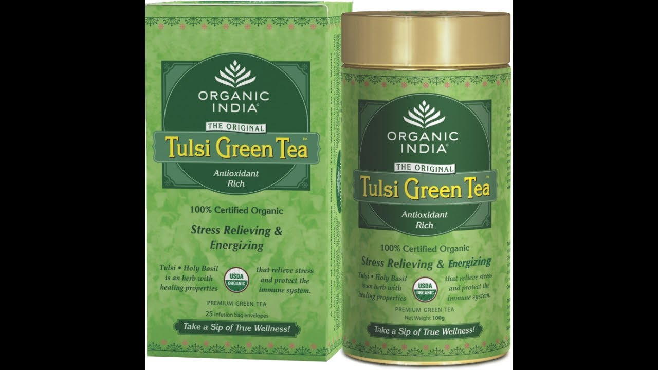 Review One Of The Best Green Tea In Market Orgnic India Tulsi