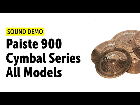 Paiste 900 Cymbal Series - All Models Sound Demo