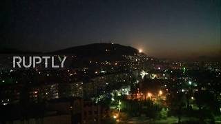 Trump Orders Strikes Against Syria