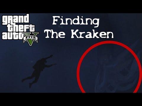 GTA 5 - Finding the Kraken (EASTER EGG SECRET)