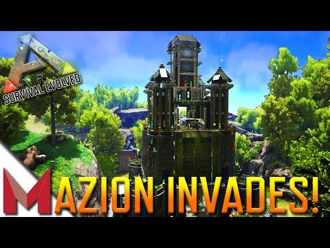 MAZION INVADES PVE-OfficialServer441! -=- ARK: SURVIVAL EVOLVED GAMEPLAY -=- Ep11