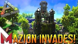 MAZION INVADES PVE-OfficialServer441! -=- ARK: SURVIVAL EVOLVED GAMEPLAY -=- Ep11