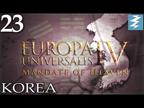 HISTORICAL KOREA FOUNDS MEXICO [23] - Korea - Mandate of Heaven EU4 Paradox Interactive