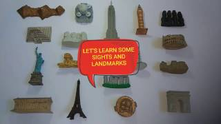Learning Sites and Landmarks from around the world for children - Safari ltd. Figurines