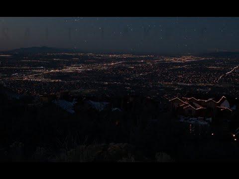 Salt Lake Valley: A Time Lapse